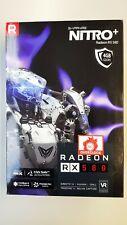 AMD SAPPHIRE NITRO+ Radeon RX 580 4GB GDDR5 Grafikkarte