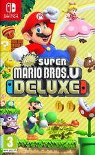 New Super Mario Bros U Deluxe NINTENDO SWITCH NEUF(OFFRE LIMI SEULEMENT 10 UNITE