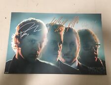 Matchbox Twenty Autographed 11x17 VIP Tour Poster rob thomas tour