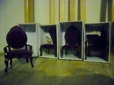 Vintage Miniature Chairs for Dolls