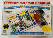 Electronic Snap Circuits STEM Over 300 Projects SC-300 Elenco Nearly Complete
