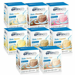 Optifast VLCD Shakes 12 x 53g Sachets Low Calorie Diet for Weight Loss Shake+