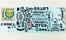 1/10 Senna Camel Lotus 99T F1 Decal Sticker logo for Tamiya F103 RC Car Body
