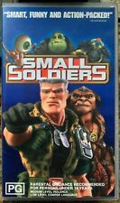 """""""Small Soldiers"""" PAL Format VHS Australian Release Hard Clamshell"""