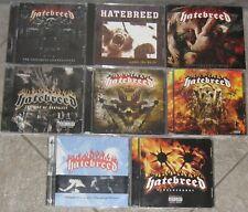 HATEBREED ? Sammlung, Paket ? 8 Alben CDs