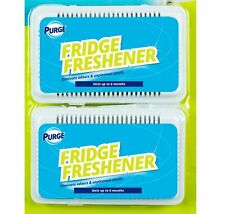2pc Fridge Fresh Deodoriser Air Freshener Kitchen Smell Odour Refrigerator Clean