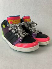 Osiris Convoy Mid Multi-Color Neon Retro Look Shoes Womens Size 6