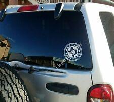 """Rayados De Monterrey Sticker Decal 5.5""""X5.5"""" Calca Rayado Texano"""