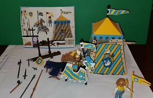 Playmobil 3654 - Swan Knight Tournament Tent