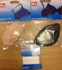 Prym bra accessories push up pads shoulder straps silicone cushions