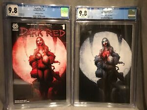 Dark Red #1 Gotham Central Regular And Virgin Variant Set Both CGC 9.8