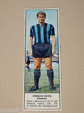 *+ ENRICO NOVA ATALANTA=FIGURINA=1966/67=ALBUM FIGURINE CALCIATORI TEMPO