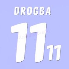 Ivory coast Drogba 11 2010 world cup Football Shirt Home kit Name/Number Set