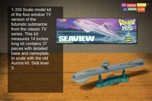 1/350 Moebius 808 - Seaview-Voyage to the Bottom of the Sea Submarine Model Kit