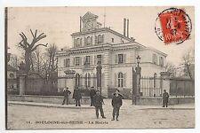 BOULOGNE SUR SEINE Hauts de seine CPA 92 La Mairie en 1907