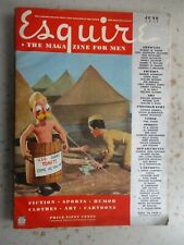 Esquire Magazine - June 1942 Issue WWII, Varga & Jane Russell, SZYK