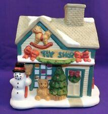 Partylite Christmas Toy Shop Building House Tea Lite Holder Snowman Tree & More