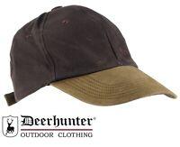 Deerhunter Monteria Hat 6109 Baseball Cap Hunting Shooting Leather Peak Timber