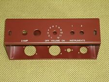 5F1 Chassis For Tweed Champ, Oxblood Powder Coat finish, USA made, Free ship
