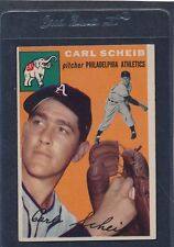 1954 Topps #118 Carl Scheib A's EX 54T118-30516-1