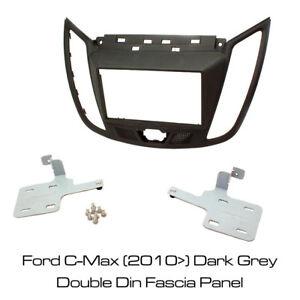 Ford C-Max (2010>) Car Stereo Double Din Dark Grey Fascia Panel CT23FD30 BNIB