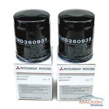 2x Genuine Mitsubishi Oil Filters MD360935 for Triton Outlander Lancer  ref Z411
