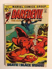 DAREDEVIL #81 November 1971 FIRST Black Widow Team up Marvel Comics Fine