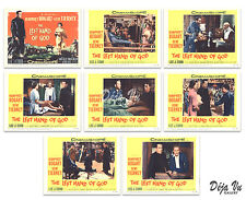 The Left Hand of God Original Lobby Card Set of 8 - Tierney - Bogart - 1955 - VF