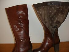 CAPRICE BOOTS 9-25501-21 WALKING ON AIR Brown SIZE 5.5  & ZIP