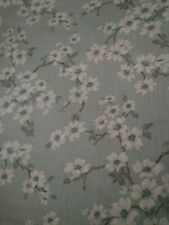 Laura Ashley Iona Duck Egg Fabric / Material  3.6 Metre