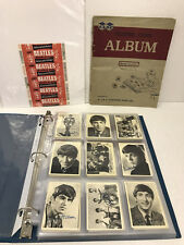 THE BEATLES-UK CARD SET- Black & White Series 1-WITH ALBUM AND WRAPPER 7.5