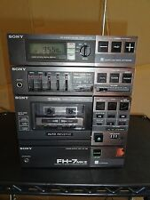 Sony FH-7 Amp and Tuner Stereo System – FOR PARTS OR REPAIR