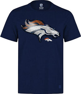 NFL T-Shirt Denver Broncos navy Line-to-Gain Football von Majestic neu
