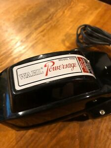 Cleaned / Sanitized Wahl Powersage Model 4300 Electric Vibrator Excellent !!!