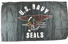 "US Navy Seals Military Flag Banner Man Cave Yard Decoration 60""x35"""