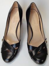 Enzo Angiolini Shoes Heels Rounded Heel Black EAdemo Womens Size 7.5 M