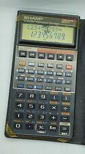 Vintage Calculator Sharp EL-566 Pocket Computer Programable scientific
