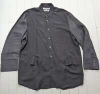 Comme des Garcons Shirt / Overshirt / Jacket - Size Large - Absolutely AMAZING !