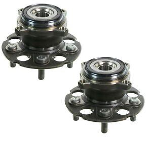 Pair Set of 2 Rear Moog Wheel Bearing Hub Assy Kit for Acura RDX Honda CR-V AWD