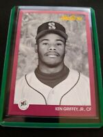 1991 Leaf Ken Griffey Jr Seattle Mariners Studio 91 #112  Baseball Card