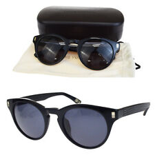 0f65c7ebe6fcd Authentic LOUIS VUITTON Mirror Sunglasses Plastic Black Z0684E Italy 38BG526