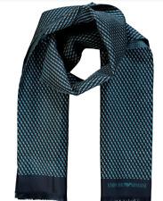 Emporia Armani Men's Silk Scarf Long Made Italy New RRP£125