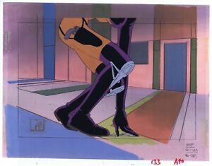 AEON FLUX Original Production Cel Cell Animation Art MTV Liquid TV 90's Legs