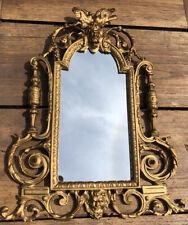 19th Cent Gilt Bronze Mirror 40cm Length