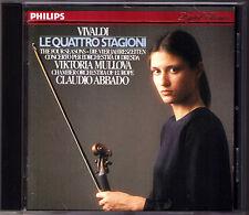 Viktoria MULLOVA & ABBADO: VIVALDI The Four Seasons Die vier Jahreszeiten CD