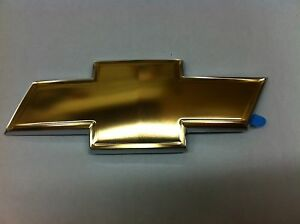 Chevrolet HHR Uplander Gold Bow Tie Rear Liftgate Emblem new OEM 19209664