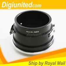 Arriflex Arri S mount lens to Sony E NEX adapter A7 A7R A7S II C5 C3 NEX7 NEX5