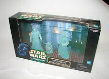 Star Wars POTF Cinema Scene orig. movies Jedi Spirits 3 pack ROTJ MIP figs 315