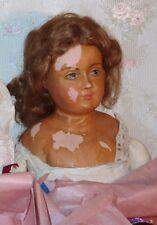 36 Inches Wax Over Bisque Unusual Lewis Sorensen Estate Doll Rare Find
