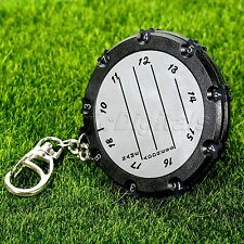 Pocket Golf 18 Hole Stroke Shot Putt Scoring Keeper Score Counter With Keychain